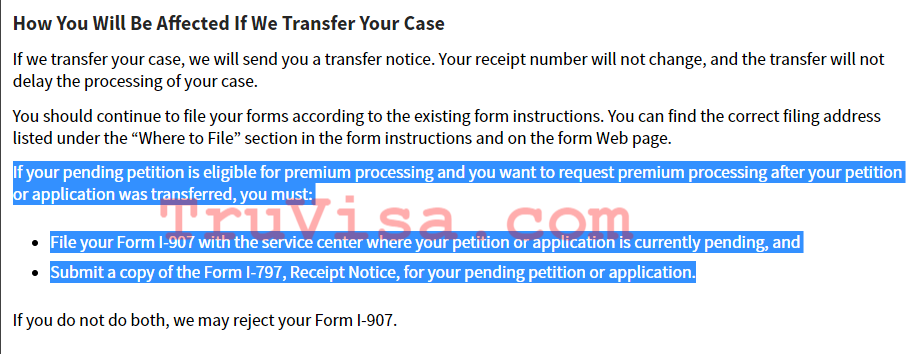H1b Transfer Premium Processing Time 2018