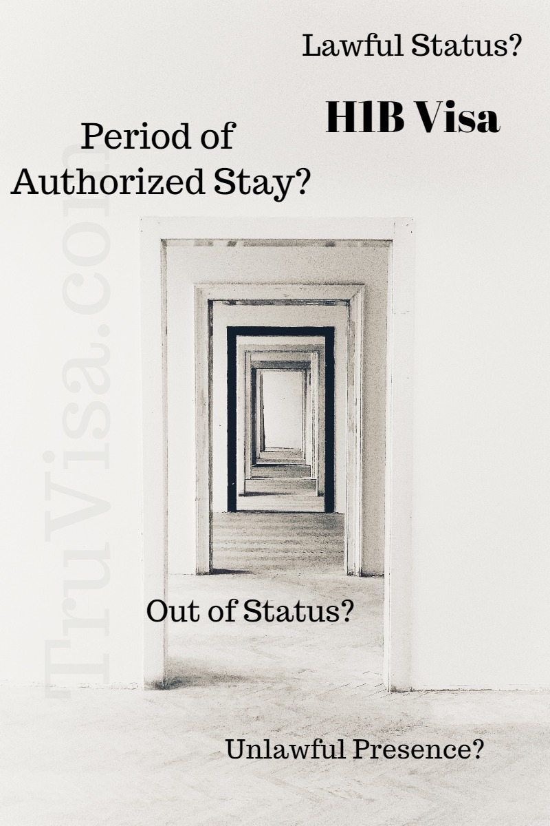 What is the difference between Lawful Status, Period of Authorized