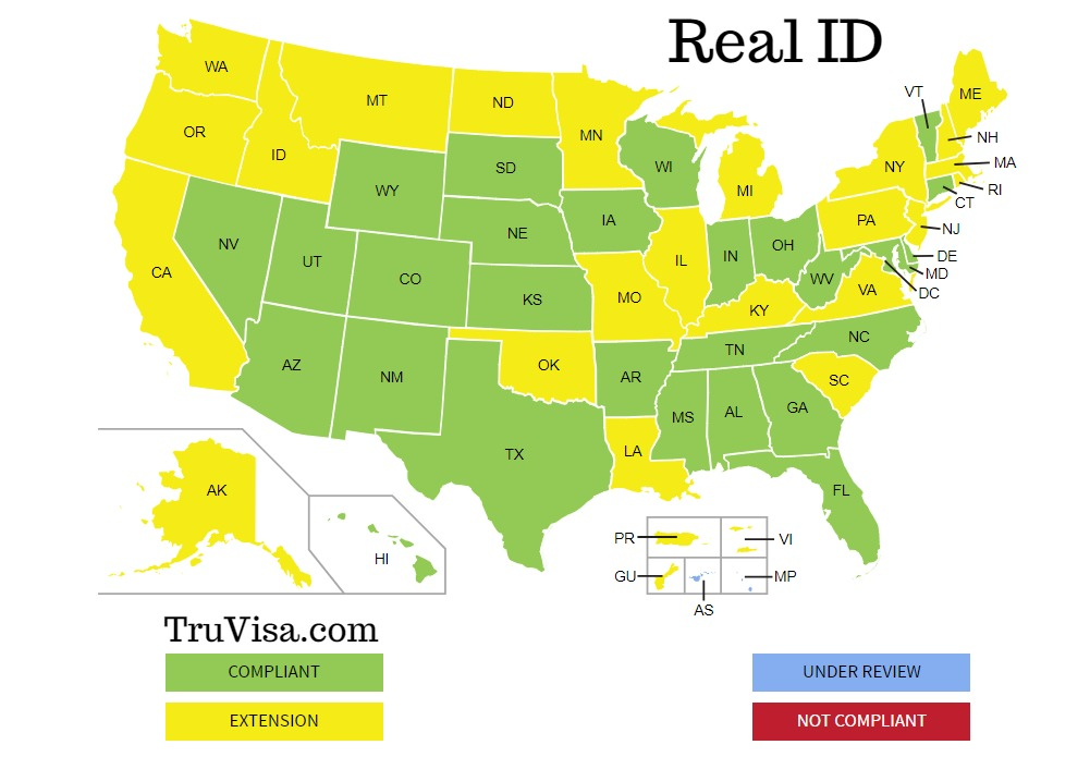 Use Passport instead of driving License at airport - REAL ID