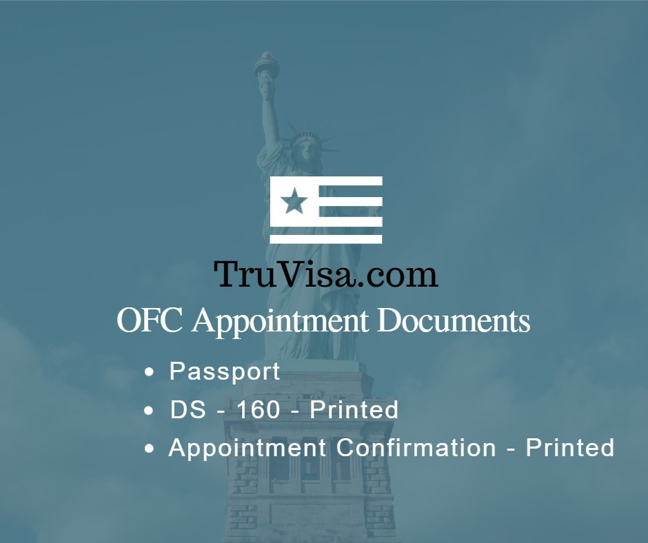 ofc-appointment-documents-required