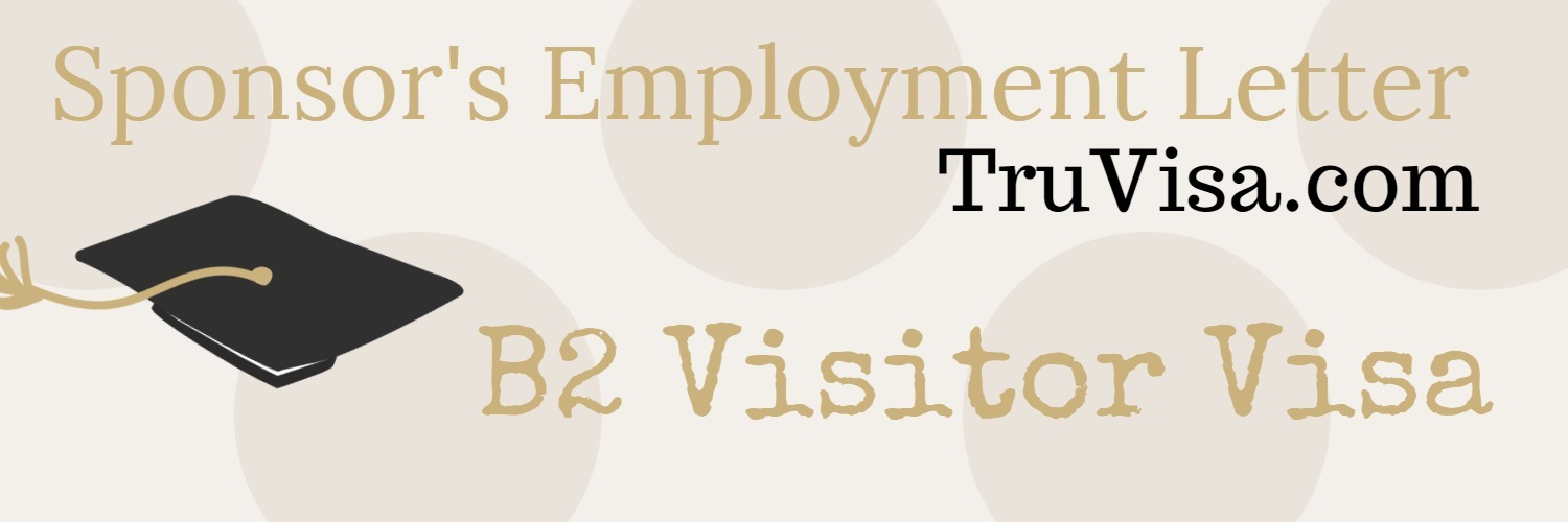 Sample Employment Letter For B Visitor Visa For Parents Relatives