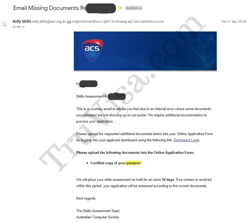 acs-assessment-australia-upload-documents-email-truvisa